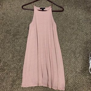Striped flowy dress